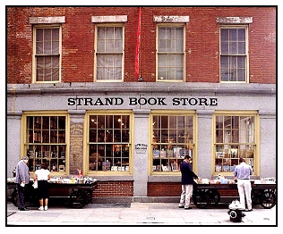 strand books store at the seaport